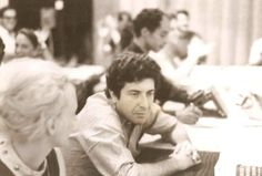 """cohenyearsphotos: """" """" Dianetics Course NY Org """" Leonard attending a Scientology class in NY. From """"Sea Org Time,"""" Blast from the Past. Heads up kindly provided by Heck of a Guy. """""""
