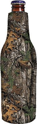 STOLTZ ENTERPRISES INC Bottle Cooler White Realtree Logo Xtra Camo, EA