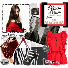 """""""Some Like it Hot with MAGNUM Ice Cream"""" by clare-738 on Polyvore"""