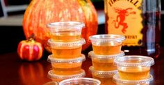Apple Cider Jello Shots With Fireball Whisky Just In Time For Halloween - View article: http://ilyke.com/u842p409/apple-cider-jello-shots-with-fireball-whisky-just-in-time-for-halloween/69350 @ilykenet