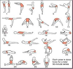hot yoga poses...