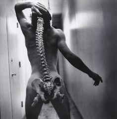 Arthur Tress - Spinal Tap, New York, 1996