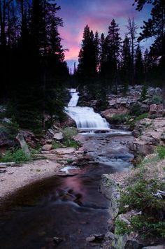 Provo River Falls Su Waterfalls Love