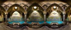 Fotografie: Architektonische Juwele im Iran               Das Bad von Aligholi Agha in Isfahan