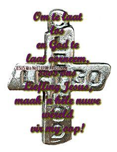 Christelike Boodskappies: PAASMAANDAG:  LAAT  LOS,  LAAT  GOD Afrikaans, True Words, Latte, Symbols, God, Dios, Allah, Shut Up Quotes, Quote