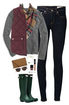 A fashion look from November 2017 featuring j crew sweaters, quilted vest and skinny jeans. Browse and shop related looks. Fall Outfits For School, Fall Winter Outfits, Autumn Winter Fashion, Winter Clothes, Fall Fashion, Winter Wear, Fashion Women, Vest Outfits, Casual Outfits