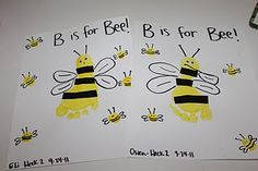 Letter B activities (lots of great ideas!)