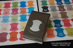 Creative Chat: Stampin' Up! Paper Storage - Free Printable Creative Chat: Stampin' Up! Craft Room Storage, Paper Storage, Craft Organization, Storage Ideas, Craft Rooms, Storage Solutions, Organizing Crafts, Stamp Storage, Diy Storage