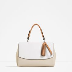 CITY BAG WITH PENDANT DETAIL-View all-BAGS-Woman-COLLECTION SS16 | ZARA United States