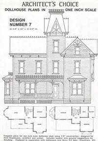 dhm4382 dollhouse plan 7 mnl1007
