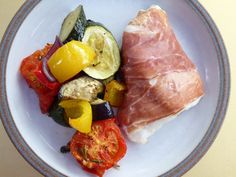 Roasted Veg! – Green Lentil Green Lentils, Suppers, Tuna, Steak, Roast, Pork, Yummy Food, Healthy Recipes, Fish