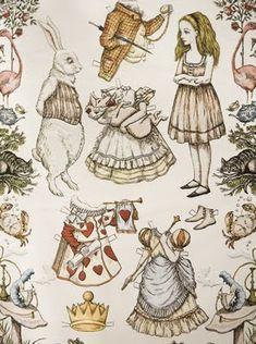 Alice paper dolls
