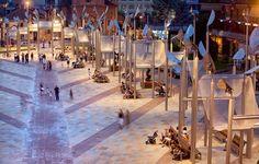 Piazza di Vittorio - Nichelino, Itália | http://www.bimbon.com.br/projeto/mobiliario_urbano_20_projetos_de_parques_e_pracas_pelo_mundo