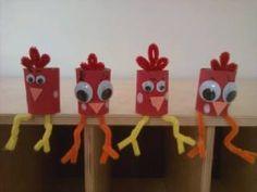 Chicken Craft - To go with chicken wobble poem