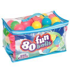 Kids Space 80 Pack Fun Balls Set