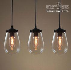 Westmenlights Mini Round Globe Glass Pendant Lighting Kitchen Bubble Hanging Pendant Lamp GRAPE