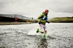 ‪#‎Smile‬: you are running through ice cold water!  Jaime Garcia Bonis doesn't seem to mind the chill! ‪#‎Runiceland‬ Ph: Giorgio Codias (1) RunIceland