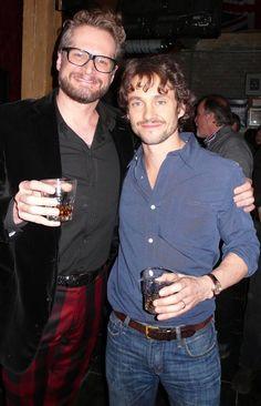 Bryan Fuller and Hugh Dancy