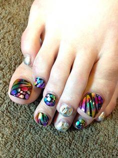 AYAKO toenails designs