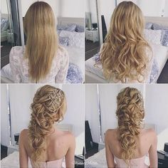 Ulyana Aster Long Bridal Hairstyles for Wedding_25 ❤ See More: http://www.deerpearlflowers.com/long-wedding-hairstyleswe-absolutely-adore/