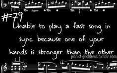 Pianist Problems