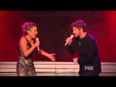 ▶ Haley Reinhart & Casey Abrams sing the blues - YouTube