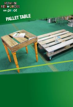 Clean up an old pallet and make yourself a new up-cycled coffee table! Learn more about transforming trash into treasure.