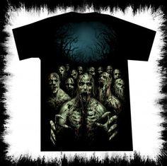 t shirt zombie night lucyfire-fashion.com
