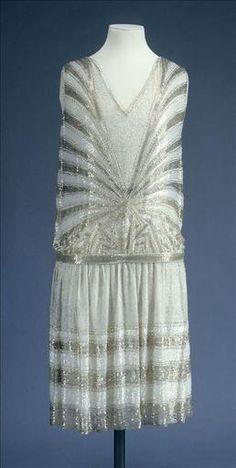 Evening Dress: ca. 1926