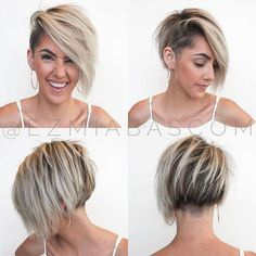 Today we have the most stylish 86 Cute Short Pixie Haircuts. We claim that you have never seen such elegant and eye-catching short hairstyles before. Pixie haircut, of course, offers a lot of options for the hair of the ladies'… Continue Reading → Blonde Hair With Bangs, Short Hair With Bangs, Short Blonde, Short Hair Cuts, Pixie Cuts, Short Pixie, Blonde Pixie, Short Curly Hairstyles For Women, Hairstyles With Bangs
