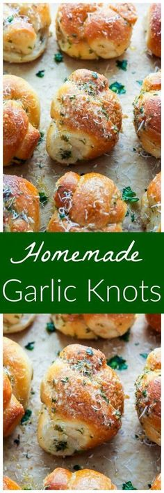 Chewy and delicious Homemade Garlic Knots! It doesn't get more delicious than this! Chewy and delicious Homemade Garlic Knots! It doesn't get more delicious than this! Bread Machine Recipes, Easy Bread Recipes, Baking Recipes, Bread Machine Garlic Bread Recipe, Garlic Bread Recipes, Easy Garlic Bread, Homemade Garlic Bread, Garlic Rolls, Scd Recipes