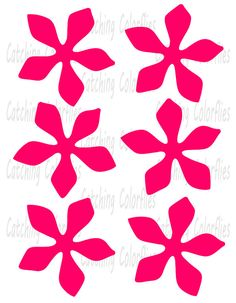 Paper flower SVG, PDF & PNG templates. This is a Digital File, INSTANT download. Hand cut or use with your cutting machine. If using with a cutting machine you must have software and knowledge that allows you to open and use this file! This project is highly recommend to use with a cutting machine. This listing includes the following items in SVG, PDF, & PNG formats, plus no fill PDF petal and leaf outlines. ♥ Mums petals template as shown ♥ 1 leaf template as shown  Helpful tutorials...