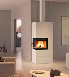 Nordpeis Salzburg C - kulmamallin varaava takka - Tulituote Oy Salzburg, Stove, Interior, Inspiration, Design, Home Decor, Fire, News, Fire Places