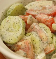 Recipe For German Cucumber Salad - It was absolutely delicious. Here's my version of German cucumber salad.