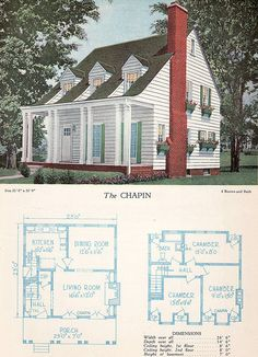 1928 Home Builders Catalog - The Chapin | Flickr - Photo Sharing!