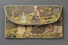 Miniature French pocketbook, 1725-1790