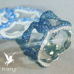 Check this symbolising adorable blue sapphires @officialfaberge via @thejewelleryed #purplebyanki #love #instagood #beautiful #diamond #finejewellry #highjewellry #bluesapphires