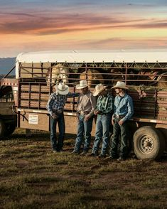 The young men stood against the trailer. The new horses snorted. They were shy. The sun began to set. Lord save us all. Rodeo Cowboys, Hot Cowboys, Real Cowboys, Cute Country Boys, Country Farm, Country Life, Country Couples, Country Chic, Country Living