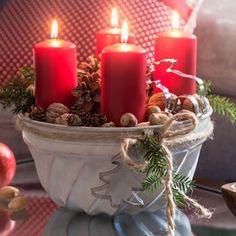 RYCHLÝ SLUNEČNICOVÝ CHLÉB - Inspirace od decoDoma Cheesecake, Pillar Candles, Table Decorations, Christmas, Advent, Instagram, Home Decor, Ideas, Xmas