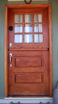 Wood Dutch Door   From Vintage Doors