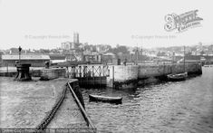 Photo of Penzance, The Harbour 1890 - Francis Frith Penzance Cornwall, Devon And Cornwall, Old Photos, The Past, Black And White, Postcards, History, Book, Image