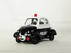 TAKARA TOMY DREAM TOMICA Vehicle Diecast Car Figure KUMAMON NO PATROL CAR Black & White