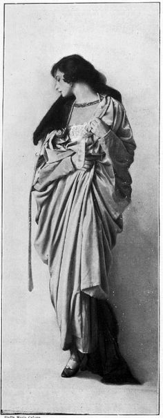 """Paris Fashion in 1917; From """"Les Modes,"""" 1917"""