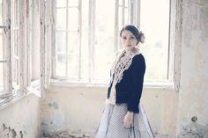 womens shawl  - scarflette - lace shawl - knit shawl - neck warmer - hand knit shawl - christmas gift - unique gift - fashion clothes