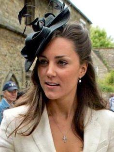 Kate Middleton, Black Fascinator