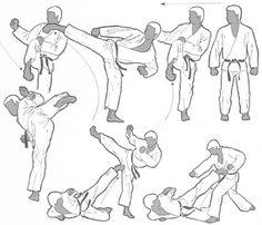 Wado Ryu Karate, Goju Ryu Karate, Kung Fu Techniques, Martial Arts Techniques, Martial Arts Workout, Martial Arts Training, Boxing Workout, Taekwondo, Jiu Jitsu