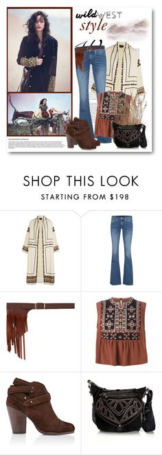 """Wild West Style"" by bliznec ❤ liked on Polyvore featuring Isabel Marant, True Religion, J.J. Winters, rag & bone and wildwest"