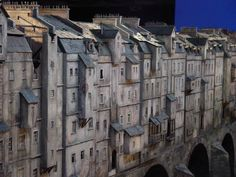 model mostu s domy do filmu Parfém - příběh vraha Film, Model, Movie, Movies, Film Stock, Film Movie, Films, Models