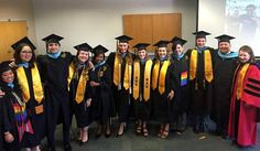 Graduation Weekend was a success! Congratulations CSA Class of 2016 =D i wouldn't have wanted to go through this program with anyone else so thank you!!! watch out higher ed. there are 11 new Student Affairs professionals ready to change lives! #naugrad #alummi #MEd #masterofeducation #counselingstudentaffairs #classof2016 by ms_biancarae