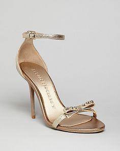 Burberry Sandals - Willenmore High Heel | Bloomingdale's